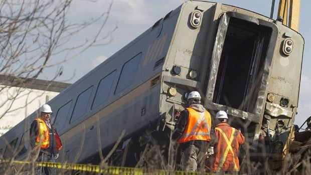 The derailment happened near Burlington. Ont., on Feb. 27.