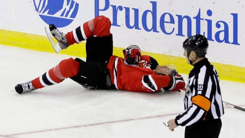 620e46cad34 New Jersey Devils left wing Ilya Kovalchuk, hasnt played since suffering  this shoulder injury on Mar. 23. (File/Associated Press)