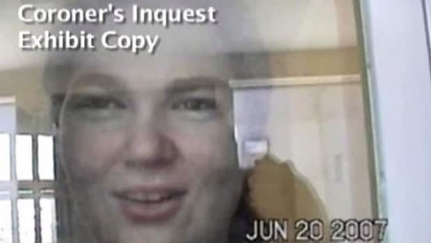 Ashley Smith is shown in this still image taken from a coroner's video. Federal correctional authorities are trying to stop public disclosure of videos and documents during a fight over the scope of an Ontario inquest into the prison death of a deeply troubled teen.