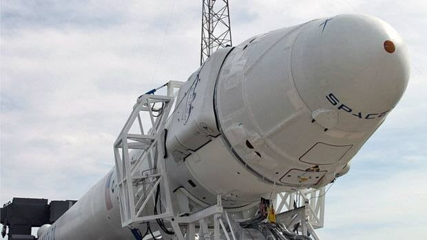 The SpaceX Dragon capsule, which blasts off on Saturday, will spend a day carrying out manoeuvres before docking with the International Space Station.