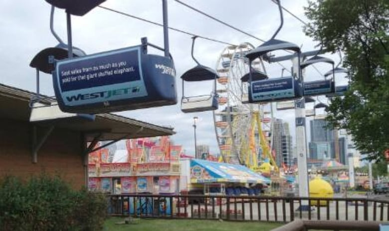 The Sky Ride Is Up And Ready To Go For Calgary S Western