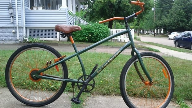 Alex Madsen's bike, lovingly known as 'The Clunker,' was stolen.