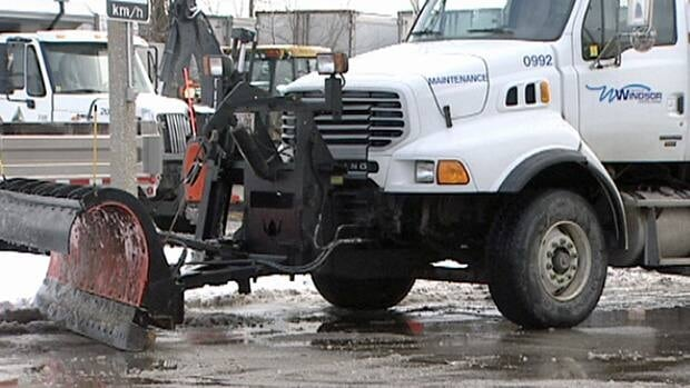 A record amount of snow fell in Windsor in January and it cost the city millions of dollars.