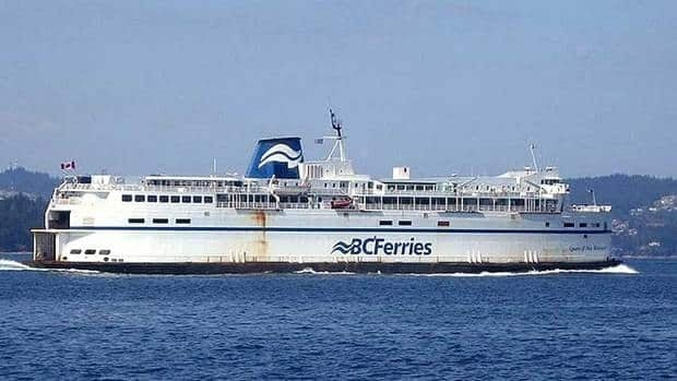 The BC Ferries vessel Queen of New Westminster was built in 1964, carries 270 cars, and has a maximum displacement of 6,129 tonnes.