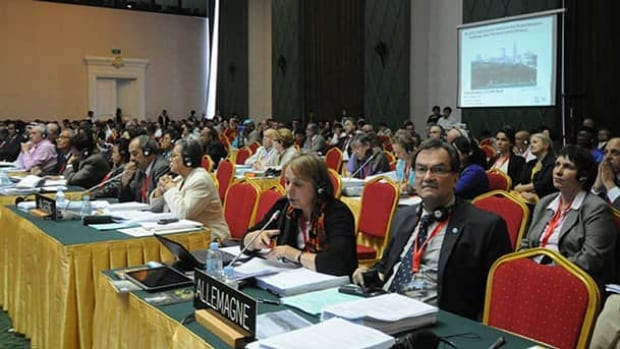 Delegates at UNESCO's World Heritage Committee meeting asked Canada to provide an environmental impact assessment of the world heritage site.
