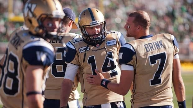 The Blue Bombers' 52-0 loss to Saskatchewan last week dropped Winnipeg's record to a CFL-worst 2-7.