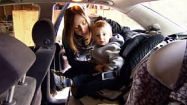 Car seats are often difficult to throw away, due to the many materials used in their manufacturing.