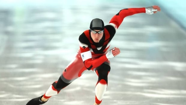 Jeremy Wotherspoon finished ninth in the 500-metres at the Vancouver 2010 Winter Olympics.