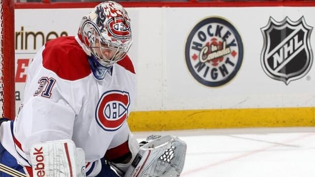 Carey Price and the Canadiens play host Oct. 1 to the Maple Leafs on Hockey Night in Canada.