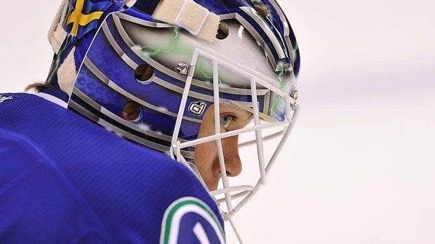 Should the Canucks trade Roberto Luongo this off-season, goaltender Eddie Lack, shown here, has a good chance to stick and back up Cory Schneider.