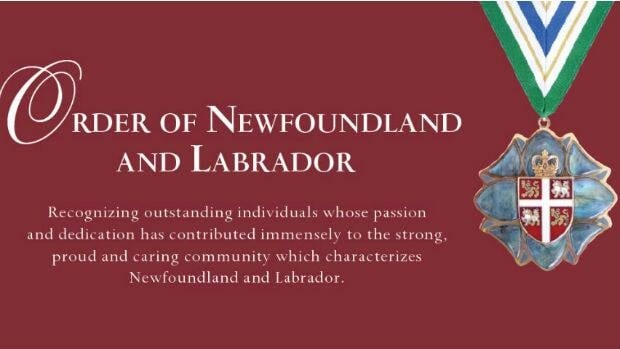 Nominations are open for the Order of Newfoundland and Labrador.