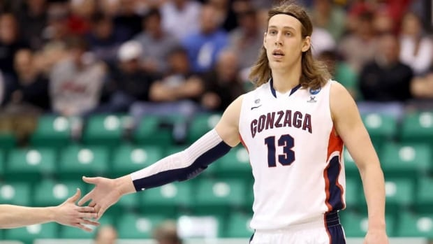 Kelly Olynyk of the Gonzaga Bulldogs averaged 17.8 points and 7.3 rebounds while shooting 63 per cent from the field.