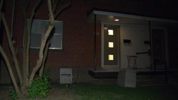 A 22-year-old man and a 19-year-old woman were inside the apartment at the time of the home invasion.