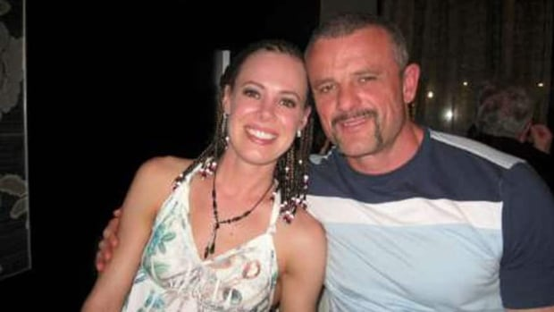 Steve Mesic, shown with fiancee Sharon Dorr, was shot and killed by police officers in June. The province announced Tuesday that there will be an inquest into the death.