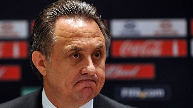 Russian Sports Minister Vitaly Mutko, shown in 2012, contradicted the IOC, which said it received assurances that gay athletes would not be under scrutiny at the Sochi Games.