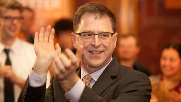 Vancouver-Kingsway MLA Adrian Dix was elected leader of the B.C. New Democrats in April 2011.