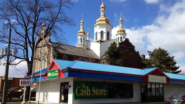 The neighbourhood around St. Vladimir's has changed, but the church's gold still glitters.