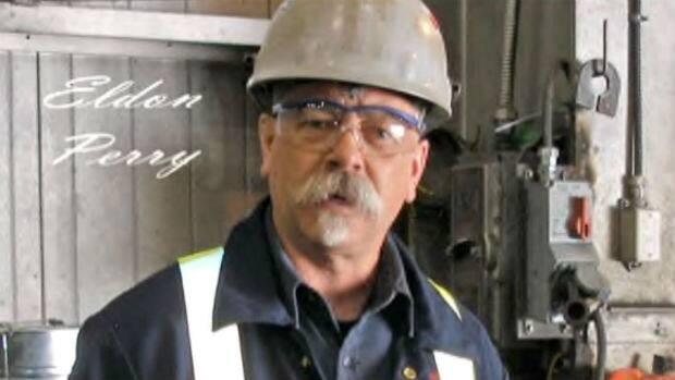 Eldon Perry, on the job.