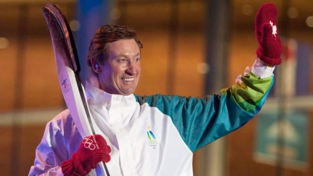 Wayne Gretzky lit the cauldron at the Vancouver Olympics, where the Canadian men's hockey team he managed won the gold medal.