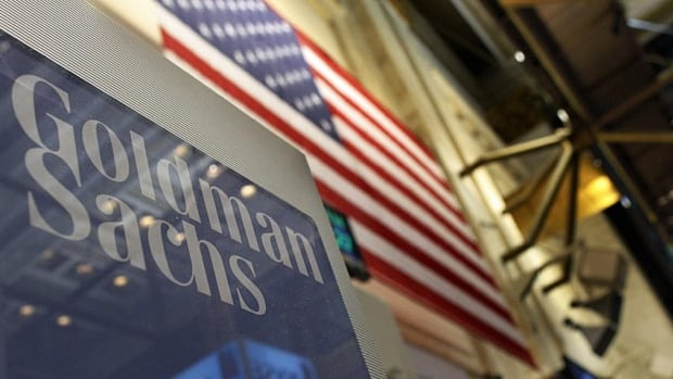 Goldman Sachs reported a slight drop in its quarterly profit as revenue fell by 20 per cent.