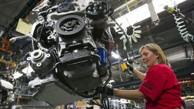 The governments of Canada and Ontario own about 9 per cent of General Motors from a 2009 bailout.