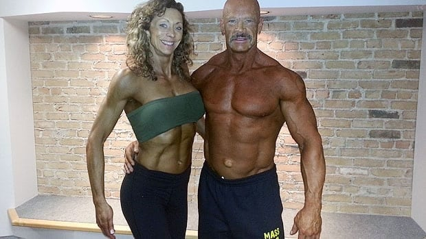 Scott Miner and Debra Geisel have been preparing for the Manitoba Amateur Bodybuilding Association competition this weekend.