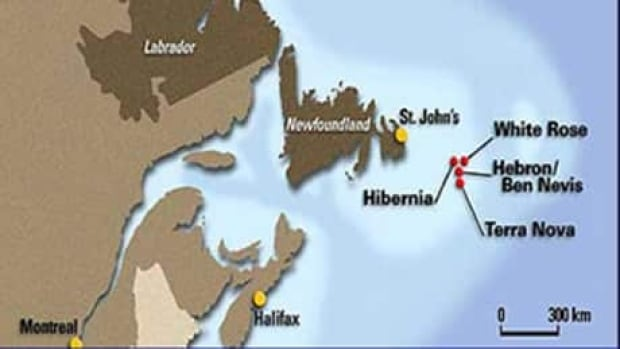 Hebron will be the fourth major offshore oil project hundreds of kilometres southeast of St. John's.