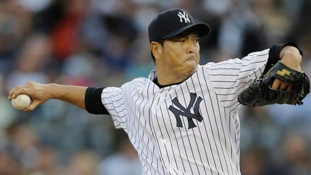 Hiroki Kuroda won just two of his first eight decisions as a New York Yankees starter, but he rebounded to finish with a career high 16 wins.
