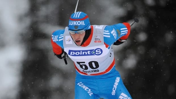 Alexander Legkov of Russia during the event on December 01, 2012 in Kuusamo, Finland.