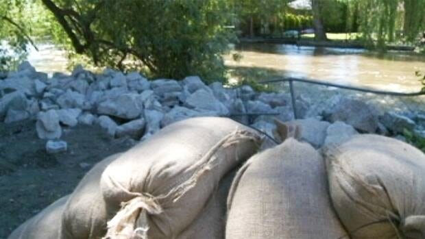 The Wildfire Management Branch Unit Crew is in Wasa assisting with sandbagging efforts.