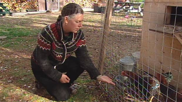Christina Calhoun has been leading the argument for Whitehorse to lift its bylaws banning backyard chickens.