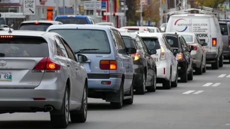 Traffic in Winnipeg
