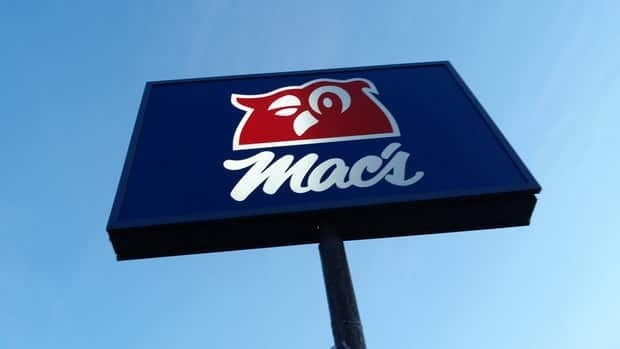 mac's convenience story sign
