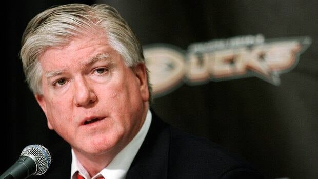 Brian Burke served as the general manager of the Anaheim Ducks from 2005-2008.