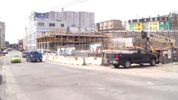 Construction of this new parking garage will not be enough to take care of the parking shortage in downtown St. John's.