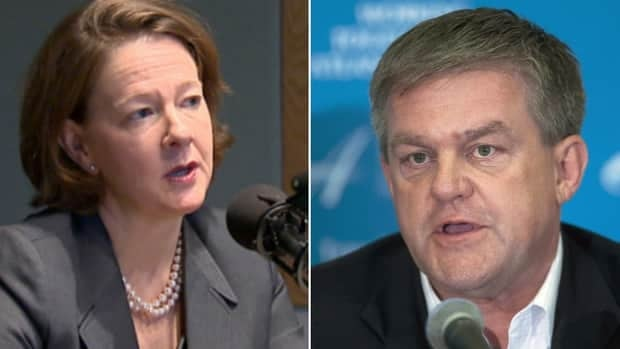 Alberta Premier Alison Redford met in Calgary with New Brunswick David Alward to discuss the prospect of building an East-West pipeline.