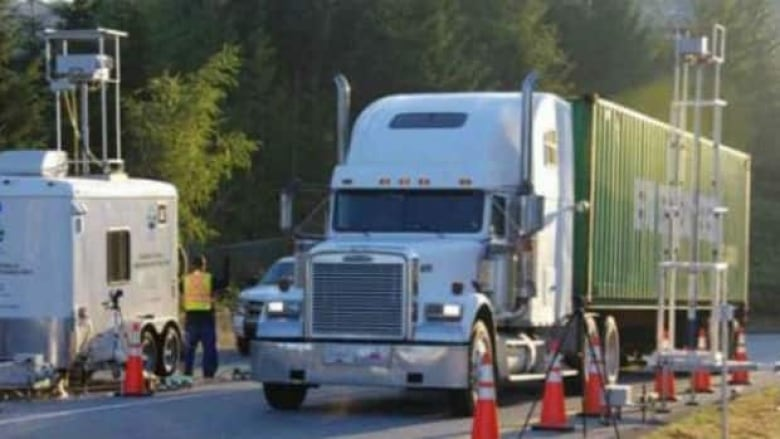 Idle trucks could turn wasted energy into usable power | CBC