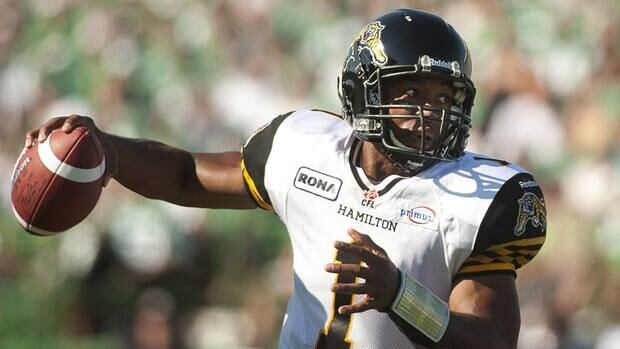 Henry Burris will lead the Hamilton Tiger-Cats against the Toronto Argonauts in the team's first game on the 2013 season.