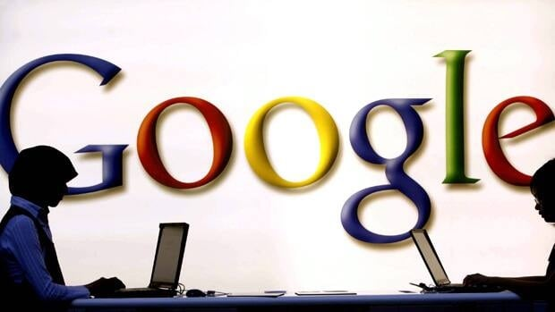 Shares in online search giant Google reached an all-time high Monday, just three days before its 14th birthday.