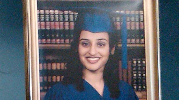 Poonam Randhawa's body was dumped in a South Vancouver laneway after she'd been shot in the head.