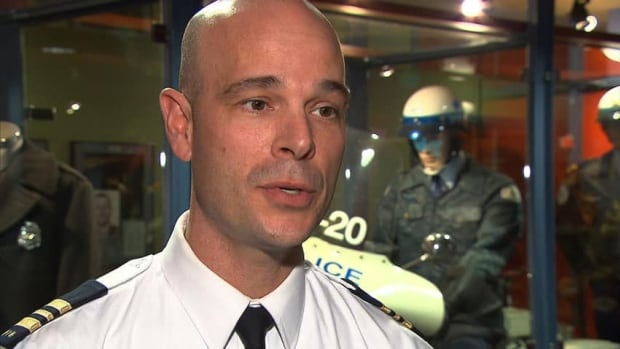 Const. Vincent Richer said Montreal police want to learn how to more effectively respond to conjugal violence situations.