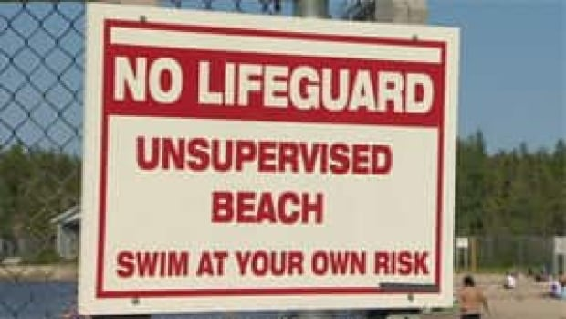 mi-fred-henne-no-lifeguard-sign