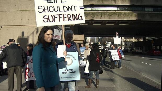 Family members of a B.C. woman, who died of her illness while fighting to get doctor-assisted suicide decriminalized, are keeping up the fight to uphold a B.C. Supreme Court decision that ruled in their favour.
