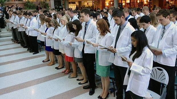 Winnipeg students begin journey to become doctors - Manitoba - CBC ...