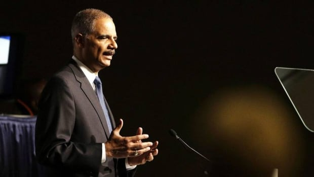 U.S. Attorney General Eric Holder speaks to the American Bar Association on Aug. 12. Today he told the Wall Street Journal the justice department will soon launch new cases related to the 2008 financial meltdown.
