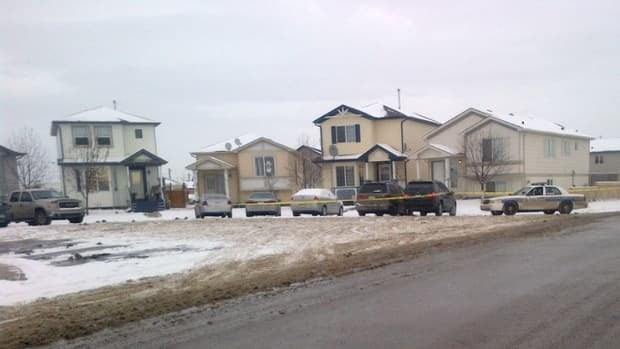 Calgary police are currently on scene in Martindale after mutliple shots were heard in the area.