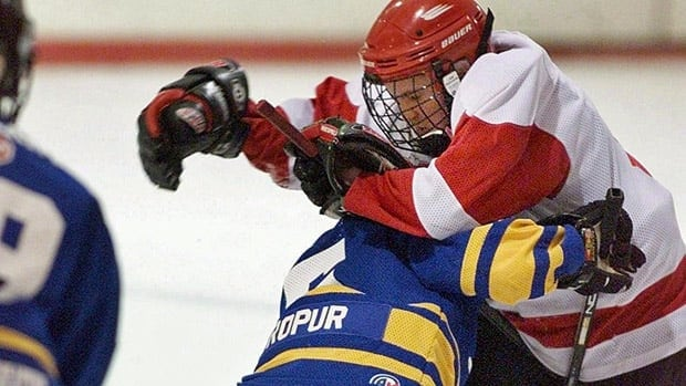 Research that came out of Alberta last year showed there was a three-fold increase in the risk of injuries for peewee players who check in Alberta, compared to those in Quebec where bodychecking is not allowed until bantam.