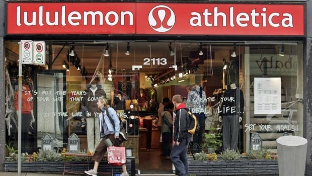 Lululemon saw its profit drop to $19 million during the most recent quarter and the company says it's expecting lower revenue for the rest of this year.