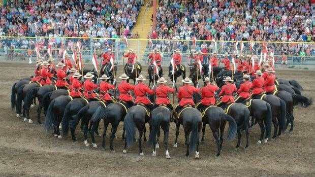 The RCMP Musical Ride tours throughout Canada, the United States and other international venues.