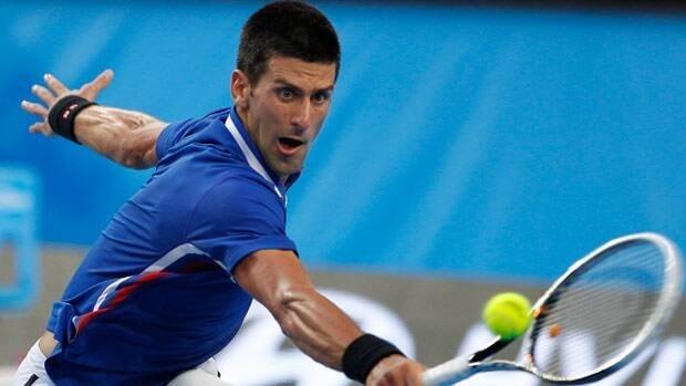 Novak Djokovic, seen in Hopman Cup play on Saturday, will gun for his fourth career Australian Open title.